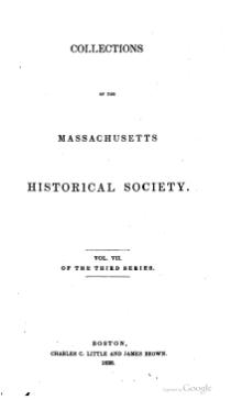 Massachusetts Historical Society series 3 volume 7.djvu