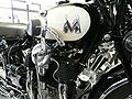 Matchless Silver Hawk motorcycle 1931 close up.JPG