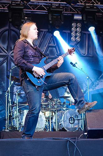 Stratovarius - Matias Kupiainen joined the band in 2008.