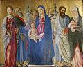 Matteo di Giovanni - Madonna con S. Caterina, S. Matteo, S. Bartolomeo, S.Lucia.jpg
