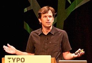 Matthew Butterick - Butterick speaking at a Berlin conference, 2012