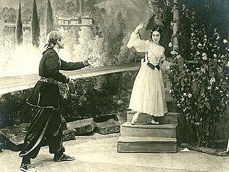 Azerbaijani ballet - Scene from the ballet The Maiden Tower by Afrasiyab Badalbeyli