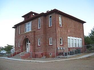 Mayer Red Brick Schoolhouse - Building in 2008