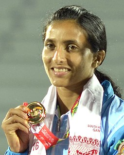 Mayookha Johny Athlete