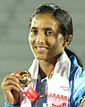Mayookha Jhony at the 12th South Asian Games 2016, in Guwahati.jpg