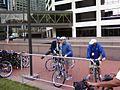 Mayor Checks out a Bike (2828399990).jpg