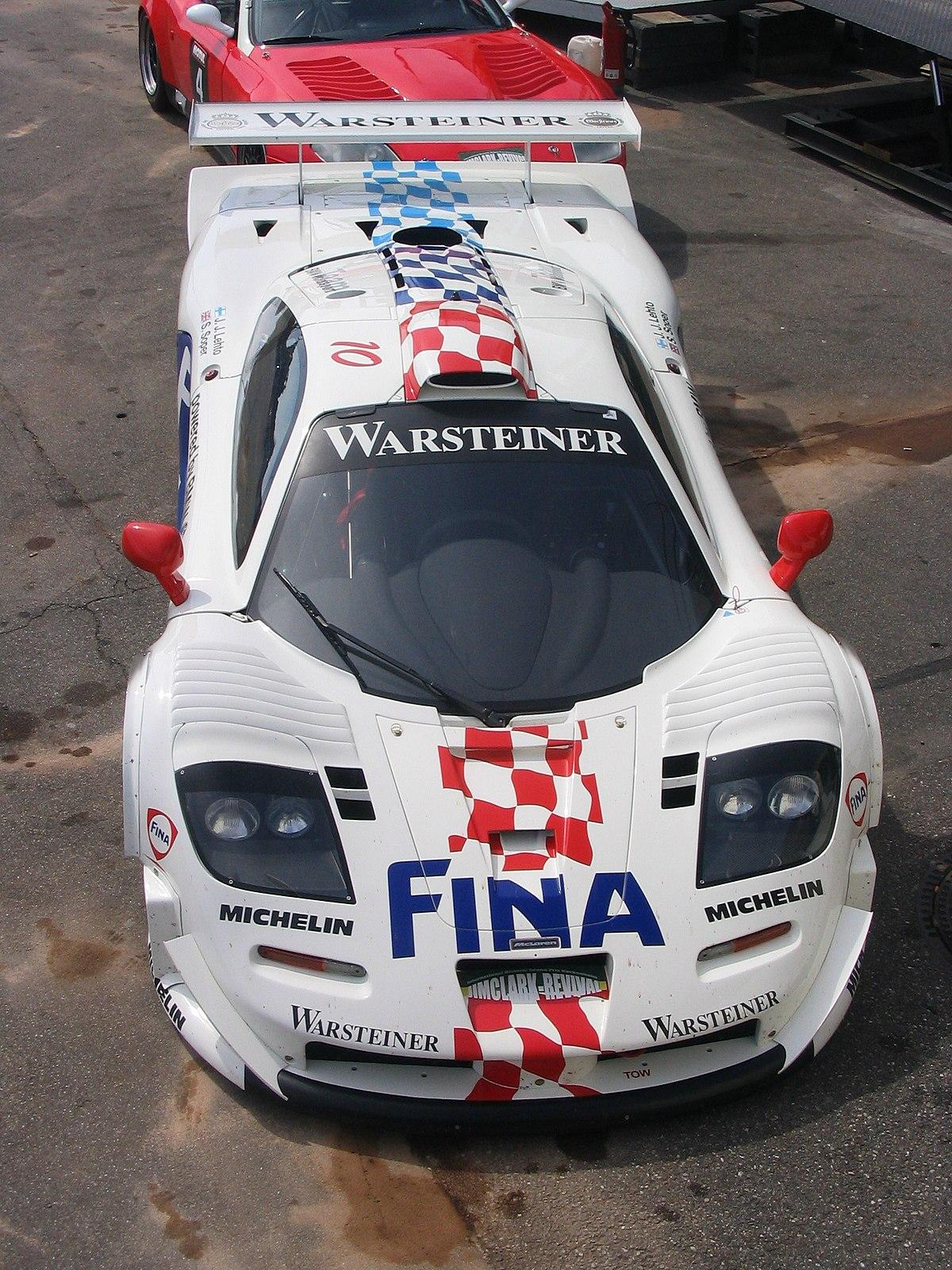 F1: McLaren F1 GTR