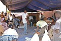 Measuring out food supplies in Bamako, Mali (8509957289).jpg