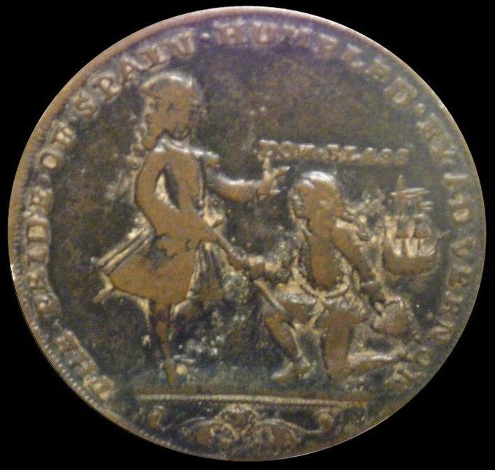 Medalla Lezo y Vernon