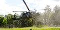 Medevac Training, Fort A.P. Hill, Va. 2013, Blackhawk Helicopter Landing.jpg