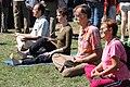 Meditating protesters (2039250494).jpg