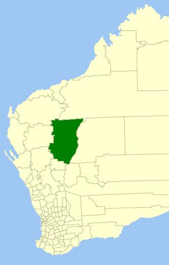 Shire of Meekatharra - Location in Western Australia