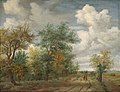 Meindert Hobbema - A Wooded Landscape with Figures - 2015.143.13 - Corcoran Gallery of Art.jpg