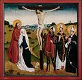Meister Georgslegende Crucifixion avec saints.jpg