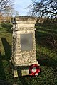 Memorial by the slip road - geograph.org.uk - 1116468.jpg