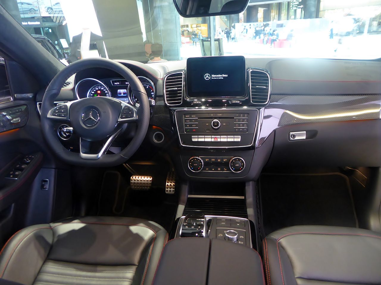 file mercedes amg gle43 4matic coup c292 interior jpg wikimedia commons. Black Bedroom Furniture Sets. Home Design Ideas
