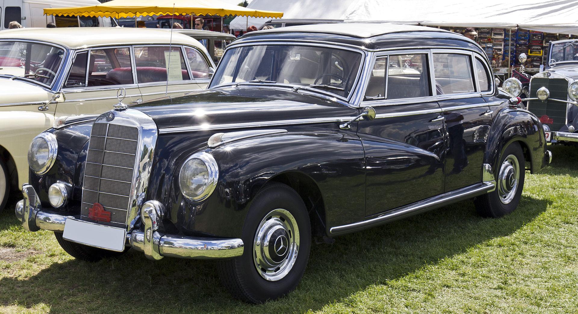 Mercedes Benz Classe S Wikip 233 Dia