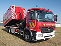 Mercedes Fire engine Brandweer Antwerpen Container Unit pic3.JPG