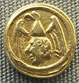 Messina (forse), 4 tari di manfredi, 1258-1266.JPG