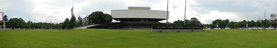 Панорама Националног театра у Културном центру Филипина