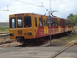 Metrocar 4037, Tyne and Wear Metro depot open day, 8 August 2010.jpg