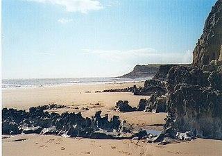 Mewslade Bay bay in the United Kingdom