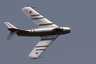 Pitch-up - The MiG-17 mounts its wing forward in order to place the center of pressure near the balance point of the aircraft. To control span wise flow, it included prominent wing fences.