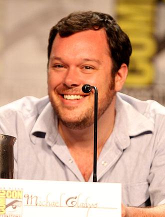 Michael Gladis - Gladis at the July 2011 San Diego Comic Con International