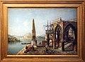 Michele marieschi, capriccio con obelisco ed eedificio gotico, 1740-45 ca.jpg