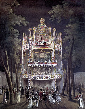 Ching Lau Lauro - Vauxhall Gardens where he performed in 1827