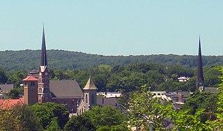 Middletown, Orange County, New York City in New York, United States