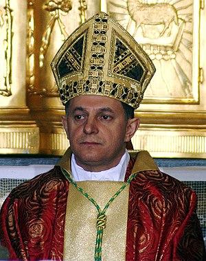 Mieczysław Mokrzycki - Image: Mieczyslaw Mokrzycki arcybiskup metropolita lwowski 2008