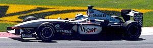 McLaren MP4-16 - Image: Mika Hakkinen 2001 Canada