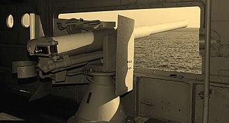 QF 12-pounder 12 cwt naval gun - Image: Mikasa 3 inch gun