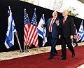 Mike Pence visit at Beit HaNassi, January 2018 (3357).jpg