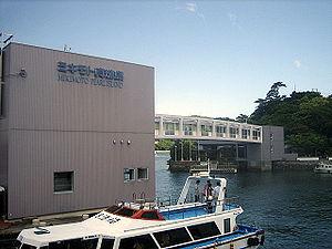 Mikimoto Pearl Island - Pearl bridge