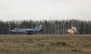 Mikoyan-Gurevich MiG-31E landing at Sormovo (2007)