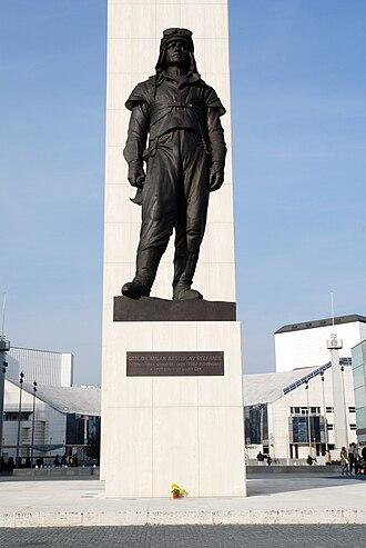 Milan Rastislav Štefánik - Statue in Bratislava