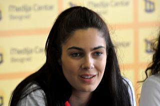 Milica Mandić Serbian taekwondo practitioner