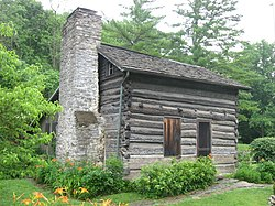 Miller-Leuser Log House, built 1796