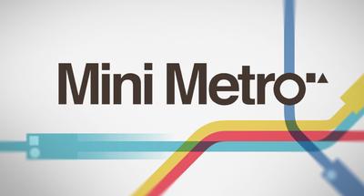 Picture of a game: Mini Metro