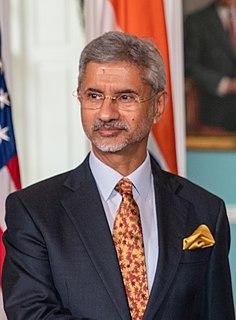 Subrahmanyam Jaishankar External Affairs Minister of India, Former Indian diplomat