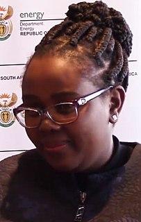 Nkhensani Kubayi-Ngubane South African Minister of Tourism
