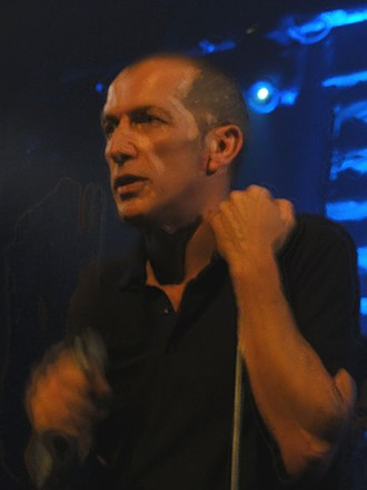 Miossec - Miossec in concert, in Lausanne in 2012.