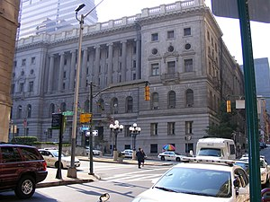 Clarence Mitchell Jr. - Clarence M. Mitchell Jr. – Baltimore City Circuit Courthouse (constructed 1896 – 1900), Baltimore Maryland