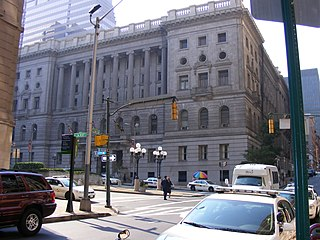 Baltimore City Circuit Courthouses building in Maryland, United States