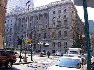 Baltimore City Circuit Courthouses - Image: Mitchellcourt