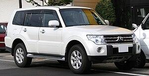 Mitsubishi Pajero - Image: Mitsubishi Pajero Exceed