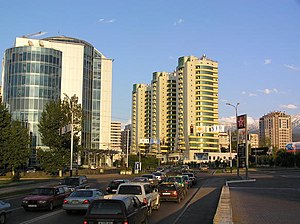 Almaty, Kazakhstan's largest city