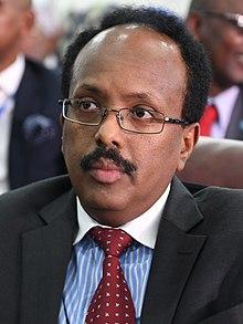 Mohamed Abdullahi Farmajo Cropped